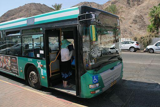 Маршруты автобусов по городу в Эйлате