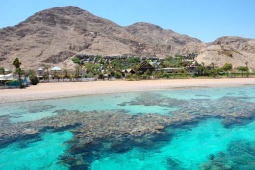 Коралловый пляж в Эйлате