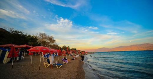 Пляж Мигдалор в Эйлате