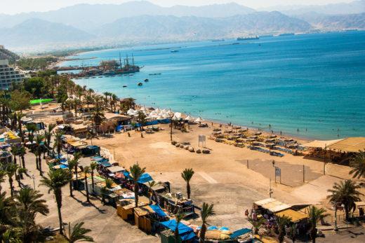 На какой пляж дешевле сходить в Эйлате