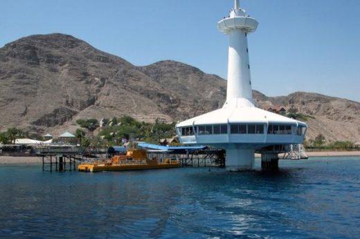 Подводная обсерватория в Эйлате