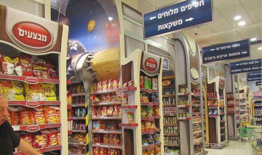 Супермаркеты Эйлата и магазины продуктов