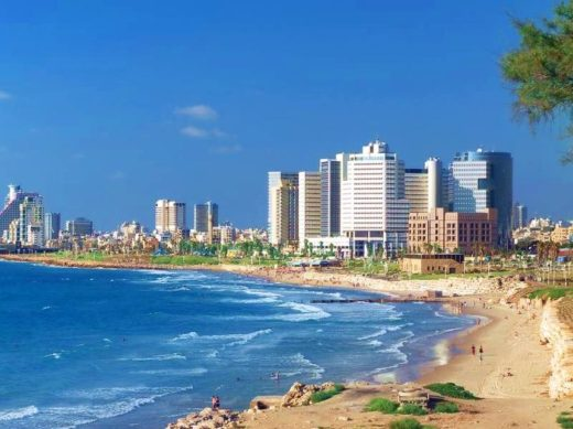 Сколько ехать из Эйлата в Тель-Авив