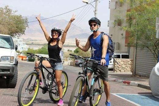 Велосипеды в Эйлате